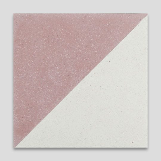 Magic Triangle Pink Encaustic Cement Tile
