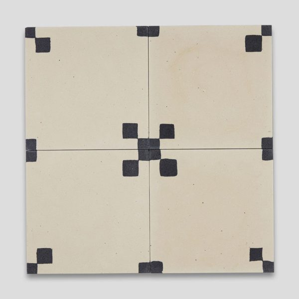 Minimalist Encaustic Cement Tile