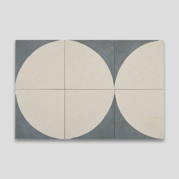 Moonlighting Green Encaustic Cement Tile