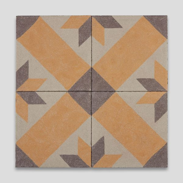 Pera Autumn Encaustic Cement Tile