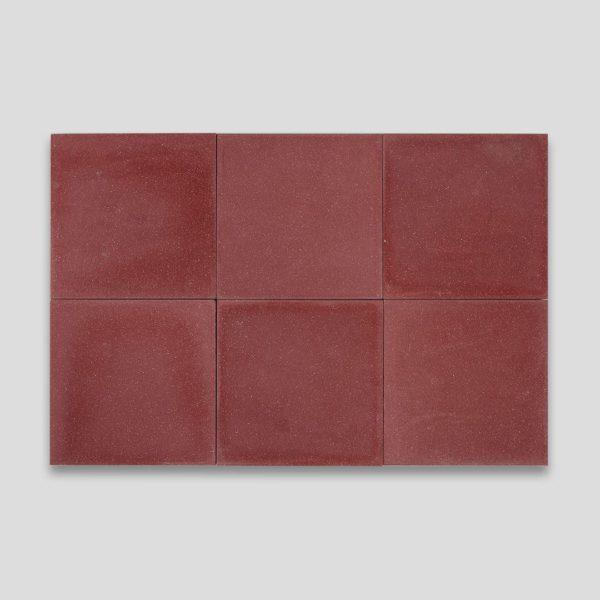 Red Encaustic Cement Tile