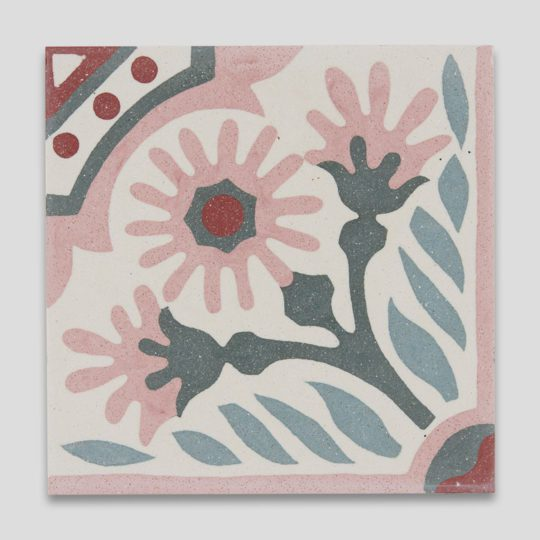 Sakura Encaustic Cement Tile