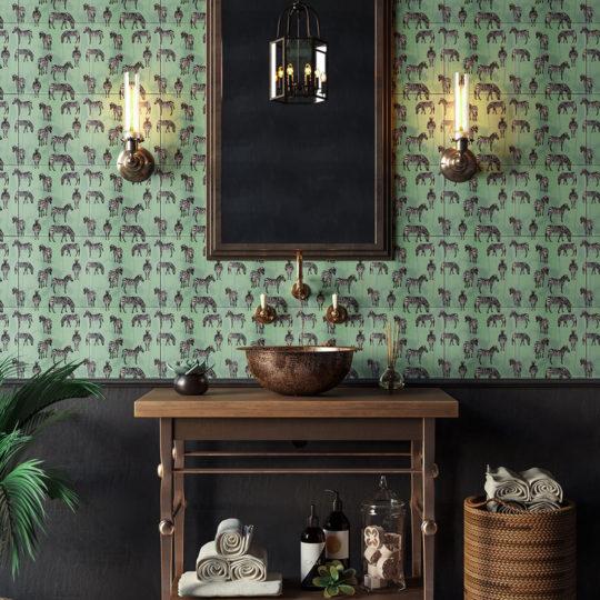 Tiffany Zebra Printed Tile