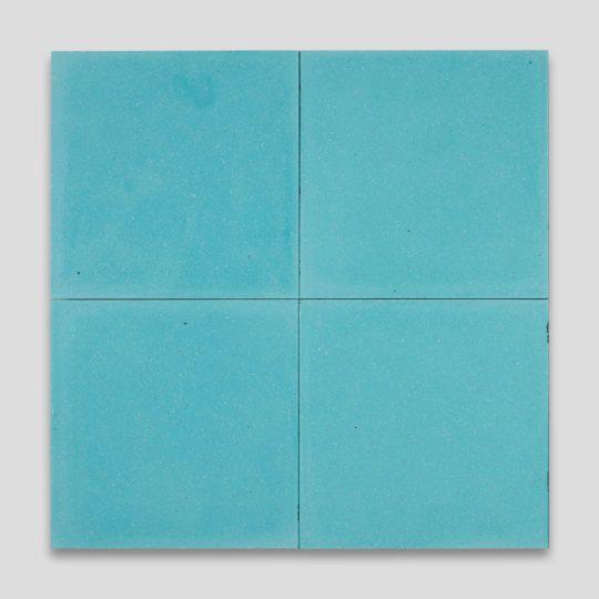 Turquoise Encaustic Cement Tile