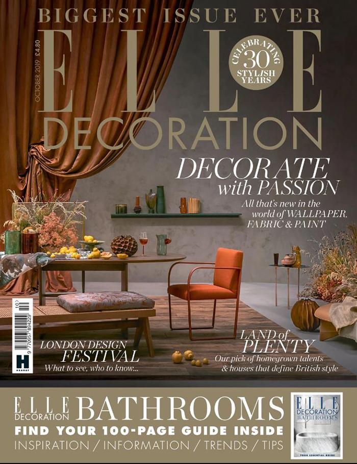 Elle Decoration - October 2019