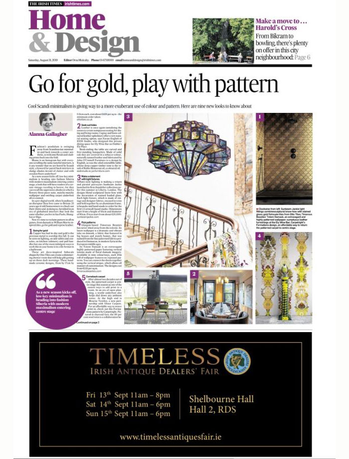 The Irish Times - 31 August 2019