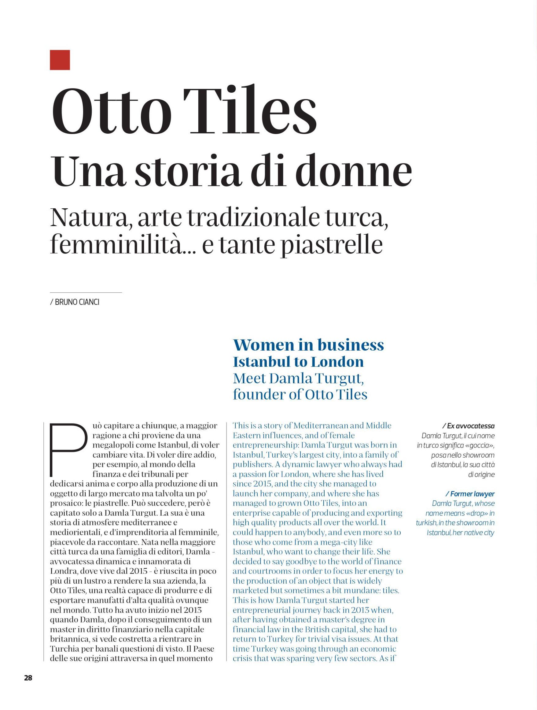 Corriere del Ticino – May 2021
