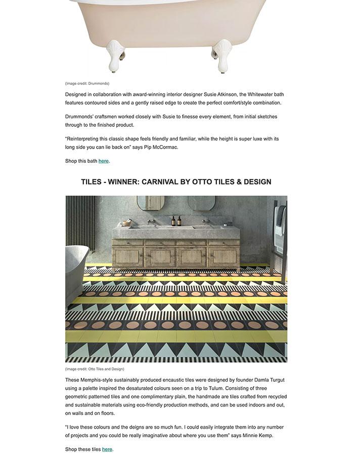 Livingetc July 2021 - Livingetc Style Awards 2021 Winners: Bathroom Design Category