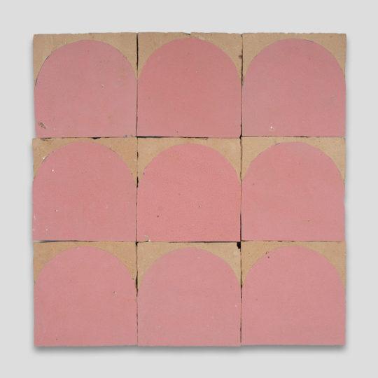 Pink Arch Terracotta Zellige